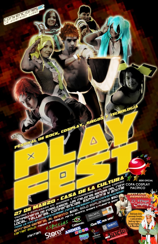 Cartel de Playfest